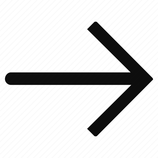 arrow, arrows, last, right icon