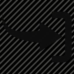 arrow, arrows, direction, forward, last, next, right icon