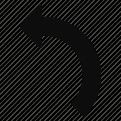 arrow, back, left, redo, reload icon