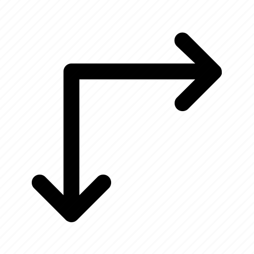 arrow, direction, lines, resize icon