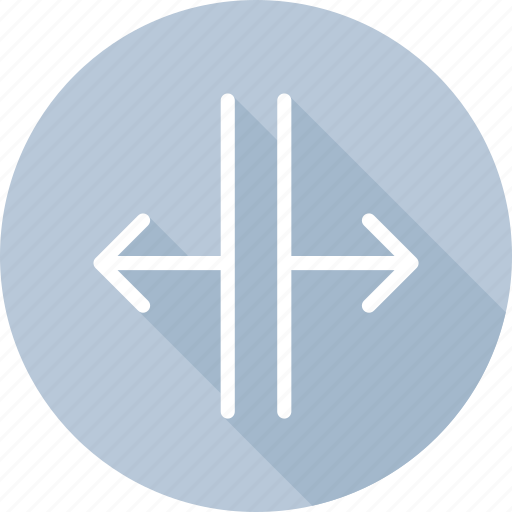 arrow, arrows, control, direction, directional, expand, pointer icon