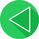 arrow, arrows, back, control, direction, directional, pointer, previous icon