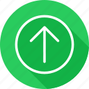 arrow, arrows, control, direction, directional, pointer, up icon