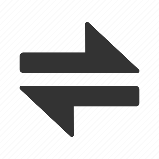 arrows, directions, interface, swap, switch icon