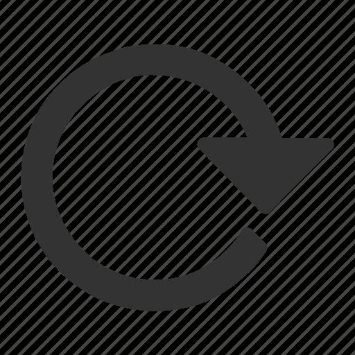 arrow, redo, refresh, reload, repeat, reset icon
