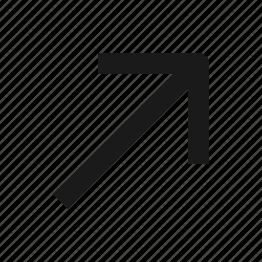 arrow, go, next, share icon