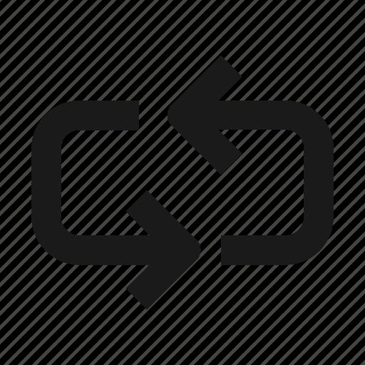 arrow, change, exchange, line, swap icon
