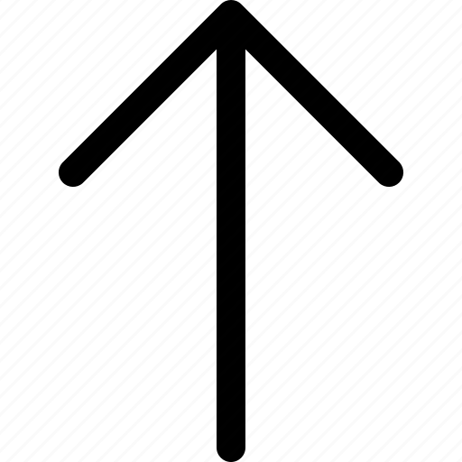 arrow, direction, navigation, point, up icon