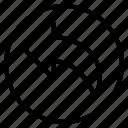 undo, back, previous, left, arrow, direction, navigation
