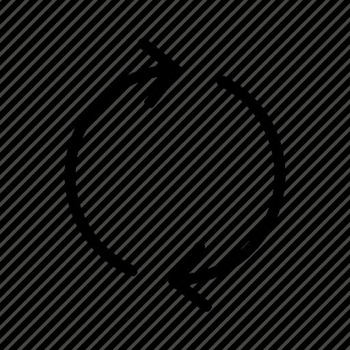 arrow, list, new, refresh, site icon