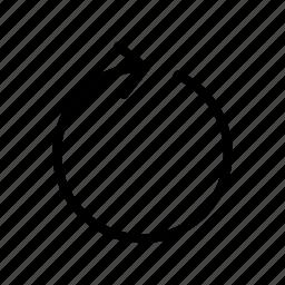 arrow, new, page, refresh icon