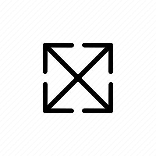 all, arrow, directions, move, sides icon