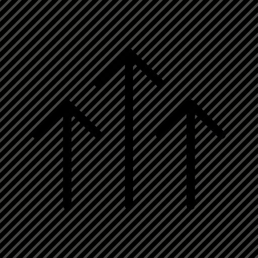 arrows, direction, grid, move icon
