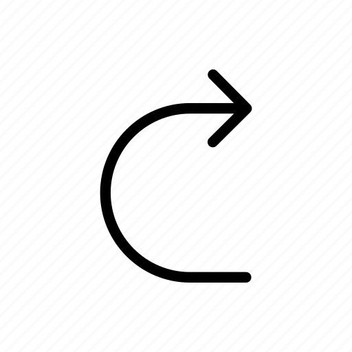 arrows, make, turn, u-turn icon