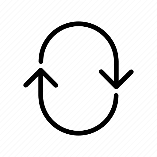 arrows, circle, move, run, side, stadium, track icon