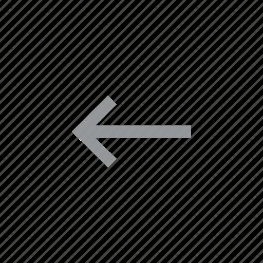 arrow, direction, konnn, left icon