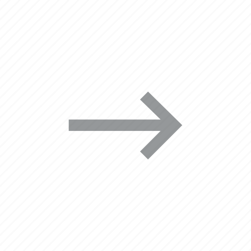 arrow, direction, konnn, right icon