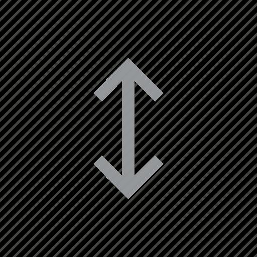 arrow, direction, down, konnn, reverse, up icon