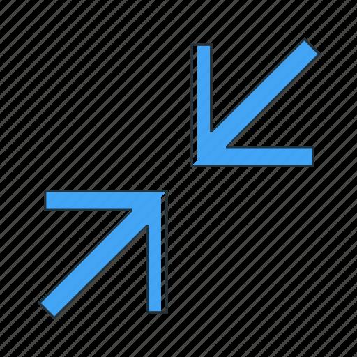 compress, multimedia icon
