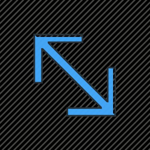 arrow, double, multimedia, pointer icon