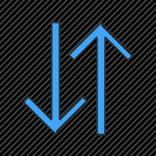 direction, exchange, multimedia icon