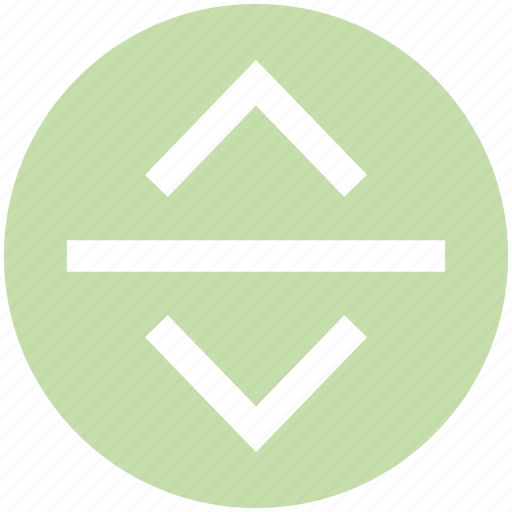 Adjustment, arrows, expand, resize, vertical icon - Download on Iconfinder