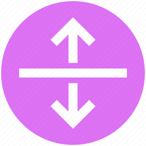 Arrows, direction, road direction, up and down, up and down arrows icon - Download on Iconfinder