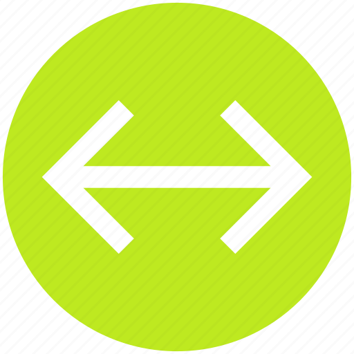 arrow, arrows, data transfer, right and left, transfer icon