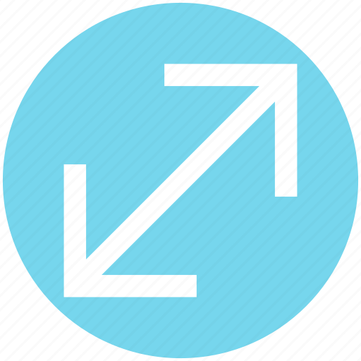Arrow, change, change arrows, scale icon - Download on Iconfinder