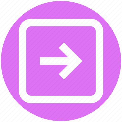 Arrow, box, forward, right, right arrow icon - Download on Iconfinder