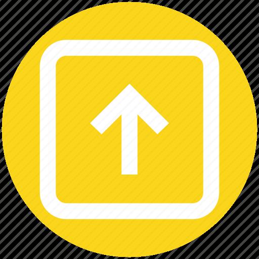 arrow, box, forward, left, up arrow icon