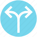 arrows, direction, left and right arrows, path