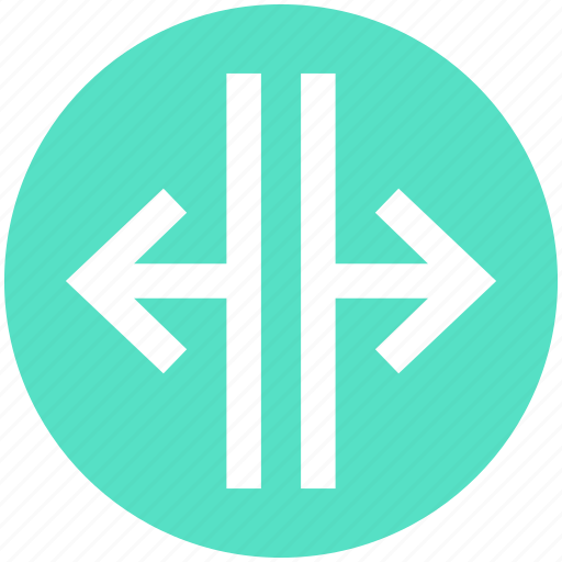 Arrows, direction, right and left, right and left arrows, road direction icon - Download on Iconfinder
