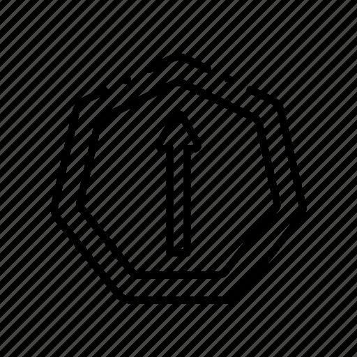 Arrow, arrows, cursor, navigation, pointer, up icon - Download on Iconfinder
