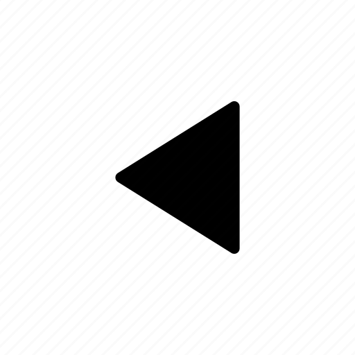 arrow, left, line, shape icon