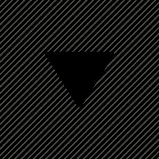 arrow, down, download, next icon