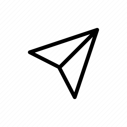 Arrow, fly, mail, paperplane, right, up icon - Download on Iconfinder