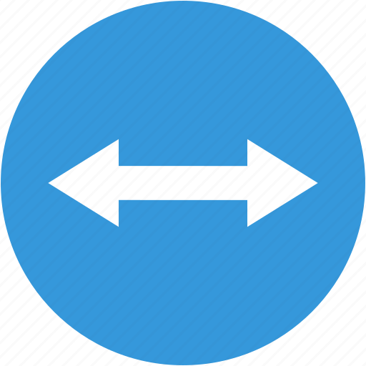 arrow, directions, left, navigation, resize, right icon