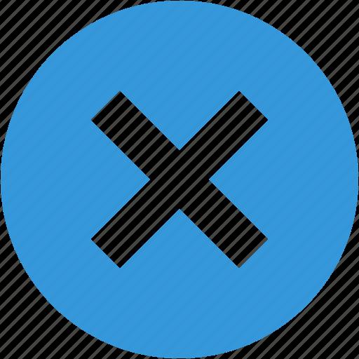 closed, cross, delete, garbage, remove icon