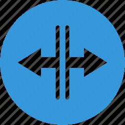 arrow, arrows, directions, left, right icon
