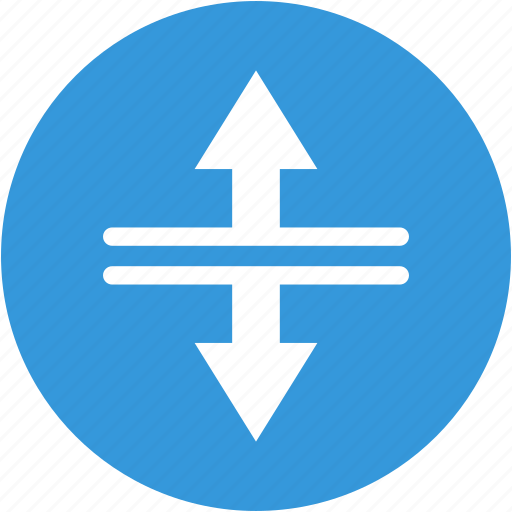 arrow, arrows, directions, down, up icon