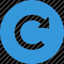 arrow, refresh, reload, renew icon