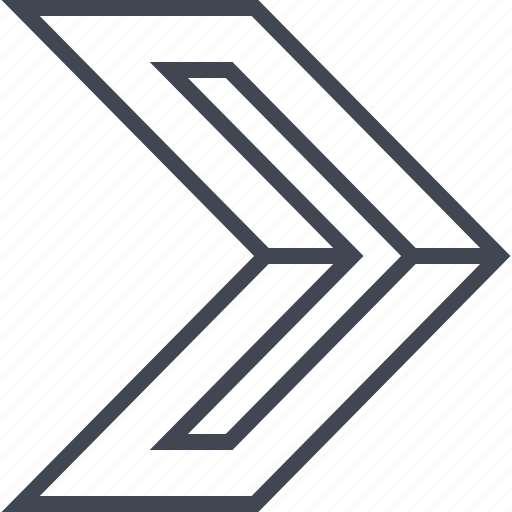 Go, next, point, pointer icon - Download on Iconfinder