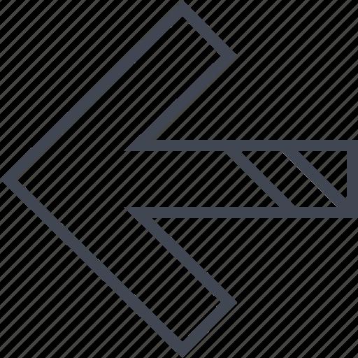 Arrow, exit, left icon - Download on Iconfinder