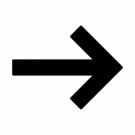 arrow, arrows, direction, right, up icon