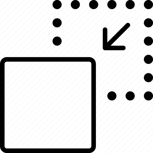 activity, motion, move, position, process, square icon