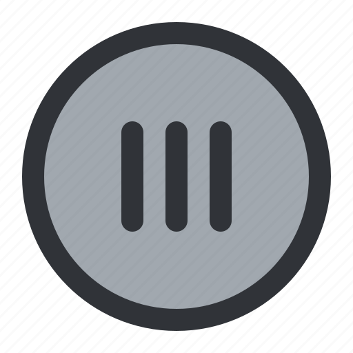 circle, lines icon