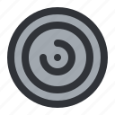 cd, circle, disc, spin icon