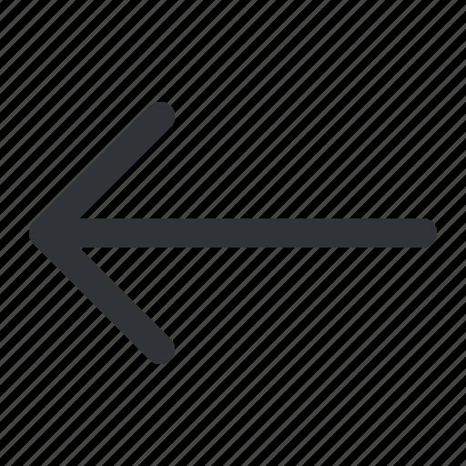 Arrow, left icon - Download on Iconfinder on Iconfinder