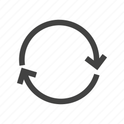 arrow, circle, circular, refresh, repeat, rotate, rotation icon